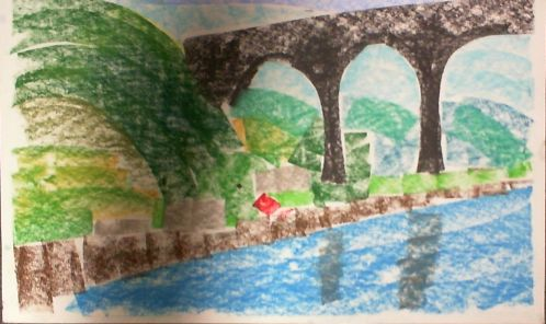 Painting in Castock