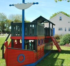 Pirate ship play area