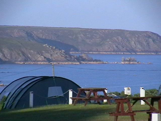 Chy Carne Camping and Touring Park in Cornwall